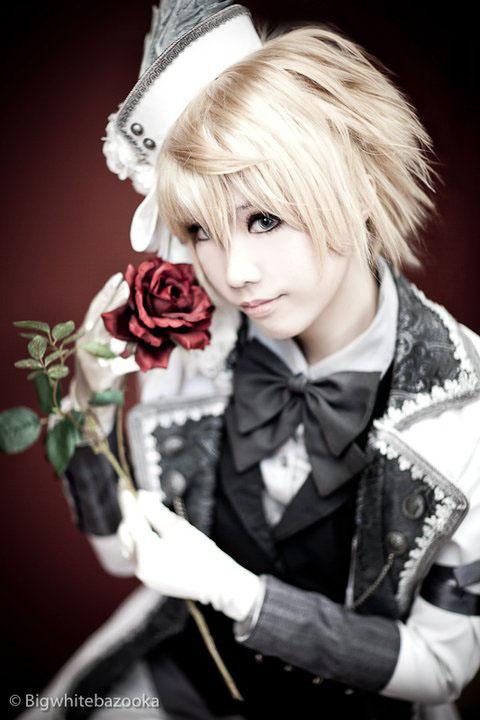 Pandora Hearts' Oz cosplay